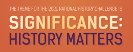 The theme for 2021 is Significance: History matters